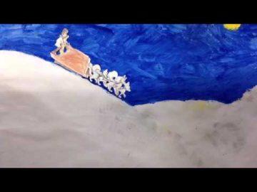 Huskey race - Oisin & Lydia